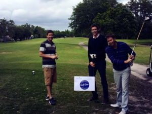 Gulfstar Electric sponsored golf hole